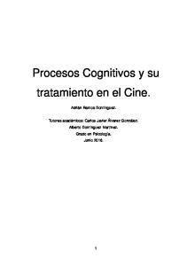 Procesos Cognitivos y su tratamiento en el Cine
