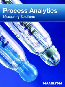 Process Analytics. Measuring Solutions