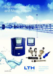 Process Control and Measurement