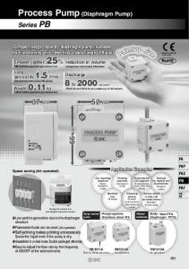 Process Pump (Diaphragm Pump)