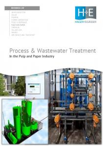 Process & Wastewater Treatment