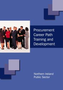 Procurement Career Path Training and Development