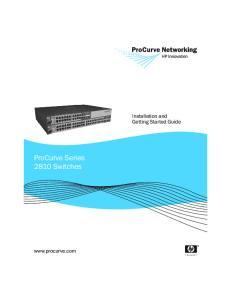 ProCurve Series 2810 Switches