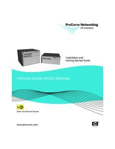 ProCurve Series 5400zl Switches