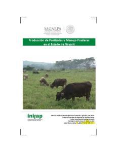 Producción de Pastizales y Manejo Praderas en el Estado de Nayarit