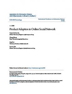 Product Adoption in Online Social Network
