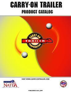 PRODUCT CATALOG VISIT  PUBLISHED 2014_APR