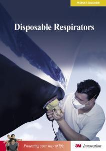 PRODUCT CATALOGUE. Disposable Respirators