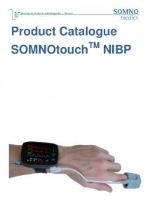 Product Catalogue SOMNOtouch TM NIBP