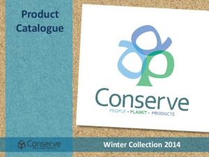 Product Catalogue Winter Collection 2014