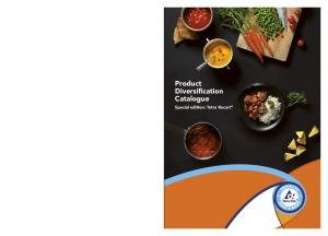 Product Diversification Catalogue. Special edition: Tetra Recart