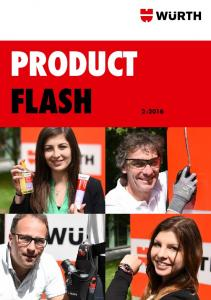 PRODUCT FLASH