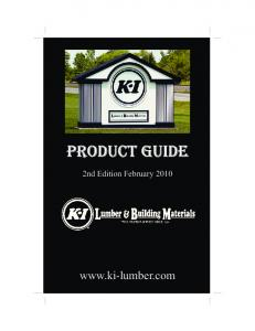PRODUCT GUIDE. 2nd Edition February
