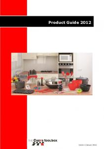 Product Guide ~ Product Guide 2012