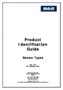 Product Identification Guide
