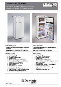 Product info (Version 01,) Produktbeschreibung
