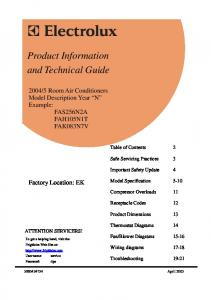Product Information and Technical Guide