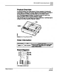 Product Overview. Order information