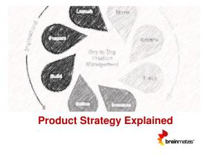 Product Strategy Explained