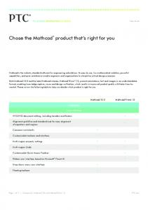 product that s right for you Chose the Mathcad