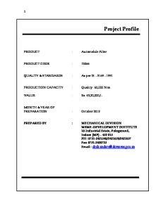 PRODUCTION CAPACITY : Quality : 60,000 Nos
