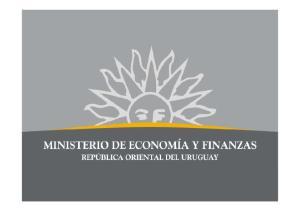 Productividad y Cambio Estructural en el Uruguay: La Trayectoria Reciente