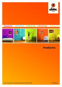 Productos. LOBA: el especialista en superficies para parquet y pisos de madera