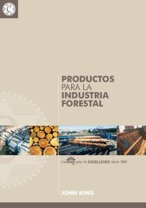 Productos para la industria Forestal