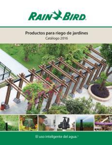 Productos para riego de jardines