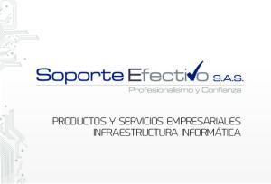PRODUCTOS Y SERVICIOS EMPRESARIALES INFRAESTRUCTURA INFORMÁTICA