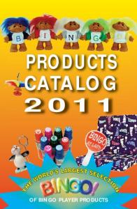 PRODUCTS CATALOG 2011