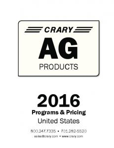 PRODUCTS. United States. Programs & Pricing