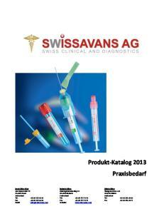 Produkt-Katalog 2013 Praxisbedarf