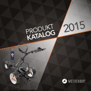 PRODUKT KATALOG 2015