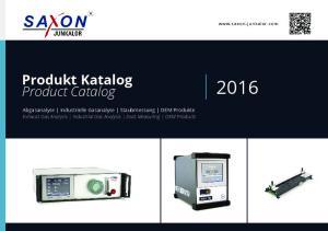 Produkt Katalog Product Catalog