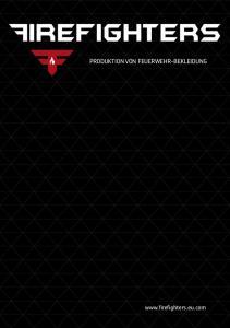 PRODUKTION VON FEUERWEHR-BEKLEIDUNG