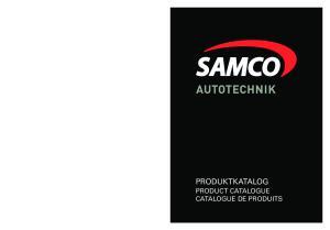 PRODUKTKATALOG PRODUCT CATALOGUE CATALOGUE DE PRODUITS