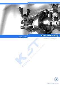 Produktkatalog Product Catalogue