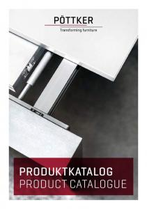 PRODUKTKATALOG PRODUCT CATALOGUE