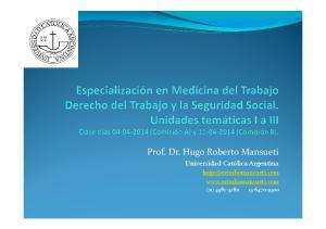 Prof. Dr. Hugo Roberto Mansueti