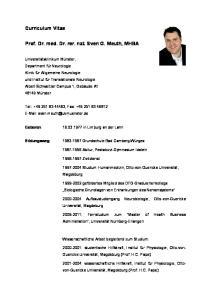 Prof. Dr. med. Dr. rer. nat. Sven G. Meuth, MHBA
