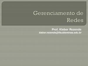 Prof. Kleber Rezende