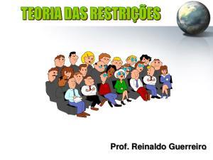 Prof. Reinaldo Guerreiro 1