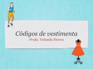 Profa. Yolanda Rivera