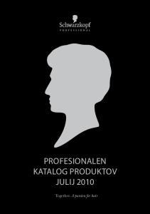 Profesionalen Katalog Produktov Julij 2010