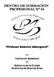 Profesor Roberto Albergucci
