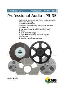 Professional Audio LPR 35