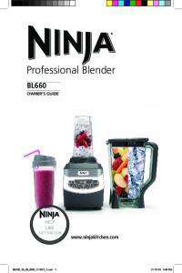 Professional Blender