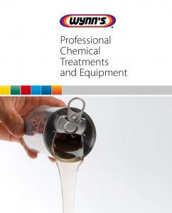Professional Chemical Treatments and Equipment