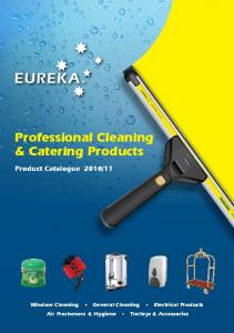 Professional Cleaning & Catering Products